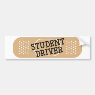 Student Driver Bandage Bumper Sticker