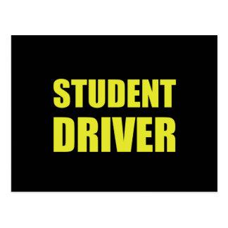 Student Driver Caution Postcard