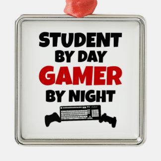 Student Gamer Metal Ornament