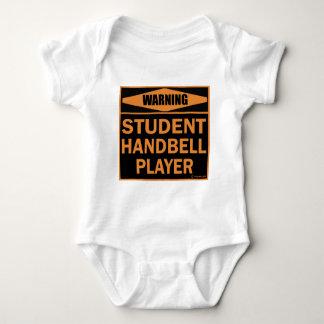 Student Handbell Player Baby Bodysuit