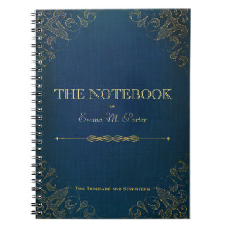 Student Leather Book School Notebook