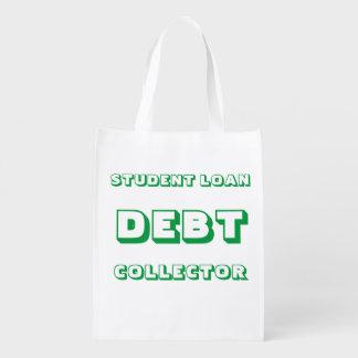 Student Loan Reusable Bag Reusable Grocery Bags