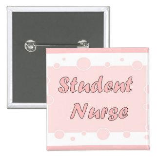Student Nurse 15 Cm Square Badge