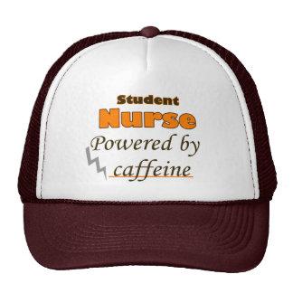 Student Nurse Powered by caffeine Cap