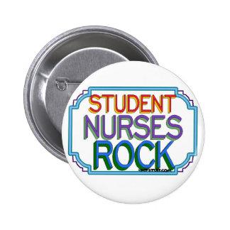 Student Nurses Rock 6 Cm Round Badge