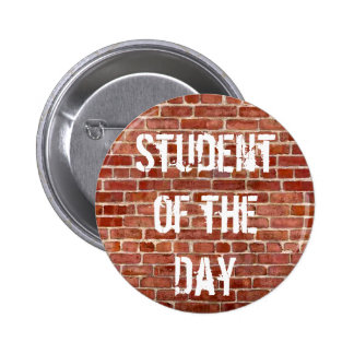 Student of the Day Teachers School Button