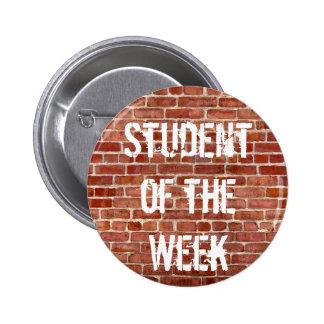 Student of the Week Teachers School Button
