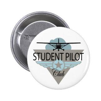 Student Pilot Club 6 Cm Round Badge