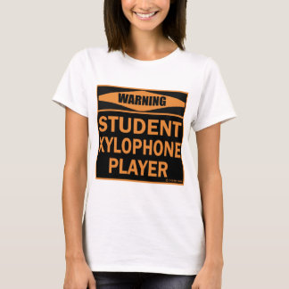 Student Xylophone Player T-Shirt
