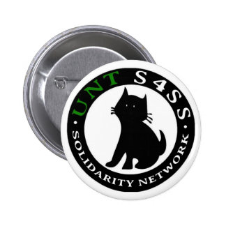 Students for a Stateless Society UNT 6 Cm Round Badge