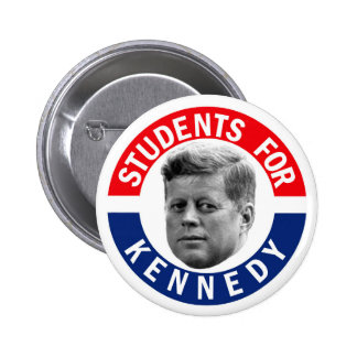 Students for Kennedy 6 Cm Round Badge