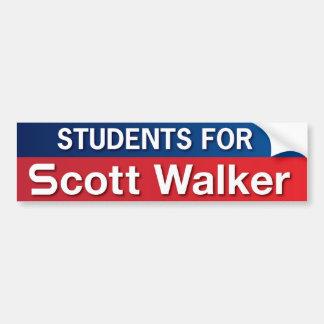 Students for Scott Walker Bumper Sticker