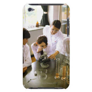 Students in School Chemistry Lab iPod Touch Case-Mate Case