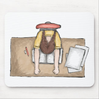 Student's Woes Mousepad
