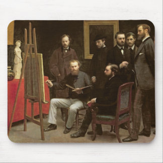 Studio at Batignolles, 1870 Mouse Pad