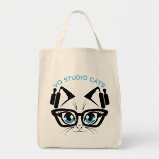Studio Cats Logo Tote Bag