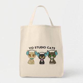 Studio Cats Tote Bag