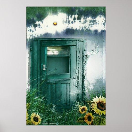 Studio Door by Gregory Gallo Poster