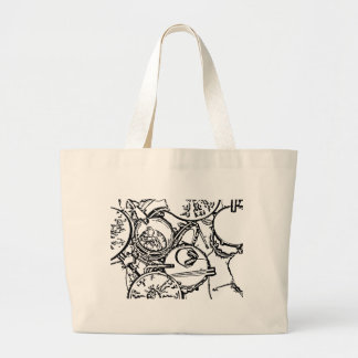 Studio Drums with Headphones and Sticks Canvas Bag