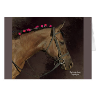 Studio Horse Design; Blank Greeting Card