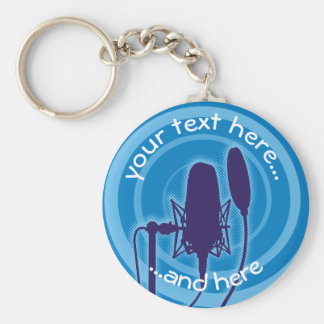 Studio Microphone Key Ring