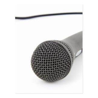 Studio Microphone Postcard