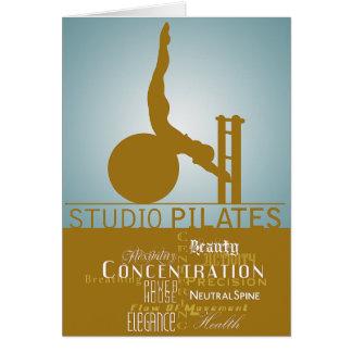 Studio Pilates - Card, Greeting Card