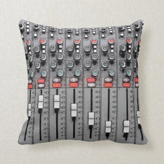 Studio Pillow: Mixer / Sound Board Throw Pillow