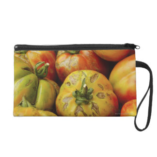 Studio shot of heirloom tomatoes wristlet