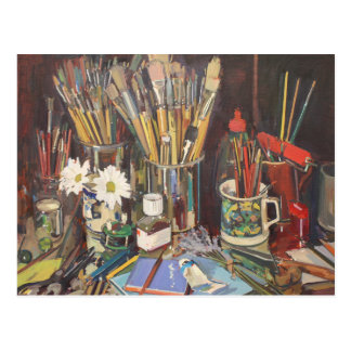 Studio Still Life 2012 Postcard