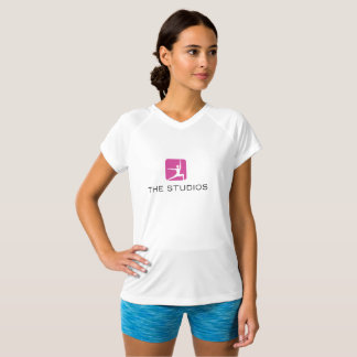 Studios Logo Fitness Tee with Squat Quote