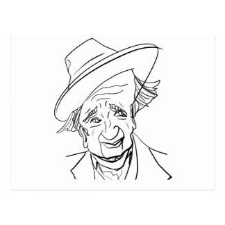 Studs Terkel Postcard