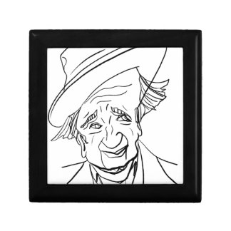 Studs Terkel Small Square Gift Box