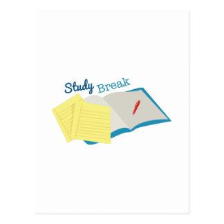 Study Break Postcard