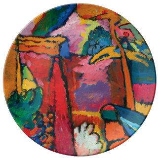 Study for Improvisation V by Wassily Kandinsky Plate