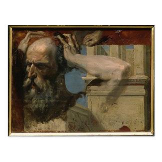 Study for Martyrdom by Jean Ingres Postcard