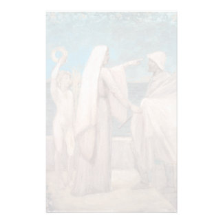 Study for Patriotism by Pierre Puvis de Chavannes Customized Stationery