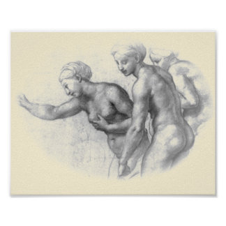 Study for the 3 Graces - Raphael poster