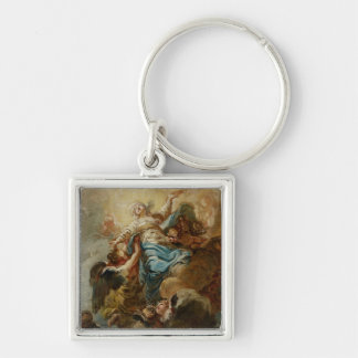 Study for the Assumption of the Virgin, c.1760 2 Key Chain