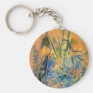 Study for the cherry tree by Berthe Morisot Key Chains