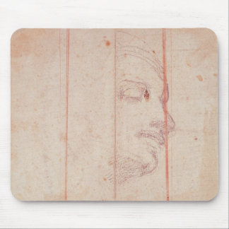 Study for the Head of the Libyan Sibyl Mouse Pad