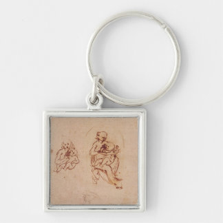 Study for the Virgin and Child, c.1478-1480 Key Chains