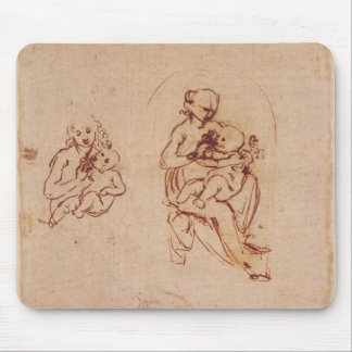 Study for the Virgin and Child, c.1478-1480 Mouse Pad
