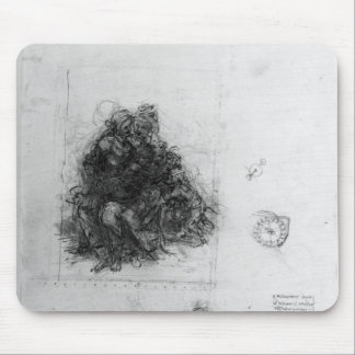 Study for the Virgin and Child with St. Anne Mousepad