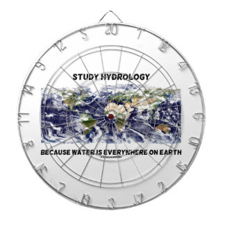 Study Hydrology Because Water Is Everywhere Earth Dartboard