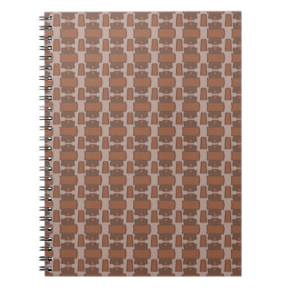 Study in Brown Notebooks