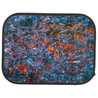 Study In Watercolor - Orange Car Mat