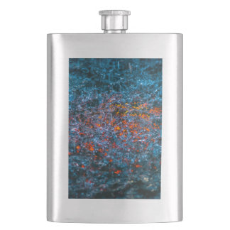 Study In Watercolor - Orange Hip Flask