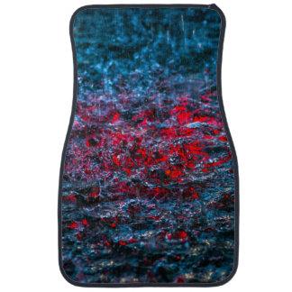 Study In Watercolor - Red Car Mat