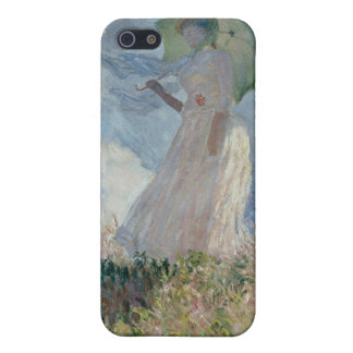 Study of a Figure Outdoors (Facing Left) Monet iPhone 5 Case